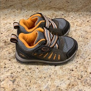 Stride rite baby boy shoes size 7 M osmond brown